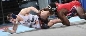 Jason Nolf, who lost to Nebraska's James Green in the 157-pound Southern Scuffle final, wrestled unattached in Chattanooga.