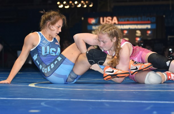 Winning Cadet Women's freestyle means beating state sisters - WIN