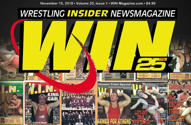 What were the Top 25 wrestling moments in the history of WIN