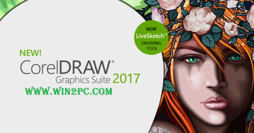 CorelDraw Graphics Suite 2017 Crack-Cover-Win2Pc