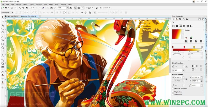 CorelDraw Graphics Suite 2017 Crack-pic-Win2Pc