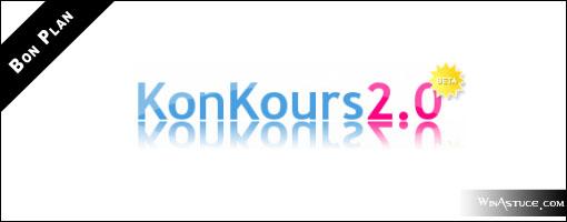 Participez à des centaines de concours avec Konkours.com