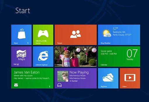 Windows 8 est son interface Metro
