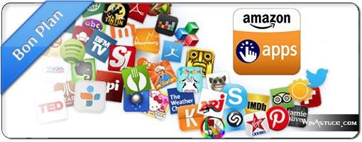 L'App-Shop Amazon offre 10 applications Android et Kindle