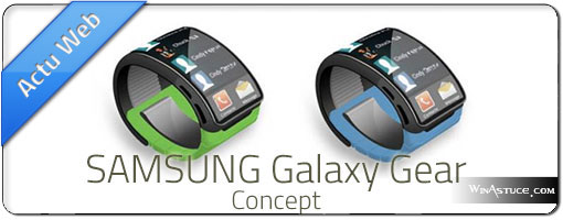 Samsung Galaxy Gear – Une montre Android à écran flexible