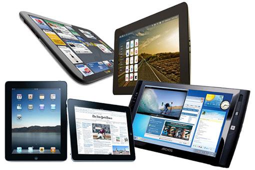 Comparatif tablette tactile 2013