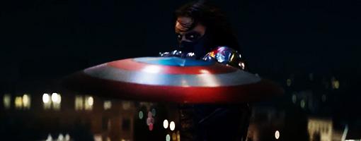 Captain America 2 et le méchant Soldat de l'Hiver