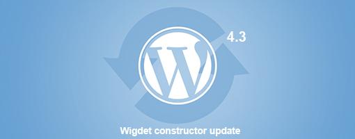 WordPress 4.3 Update