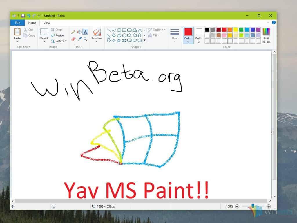 Open Microsoft Paint
