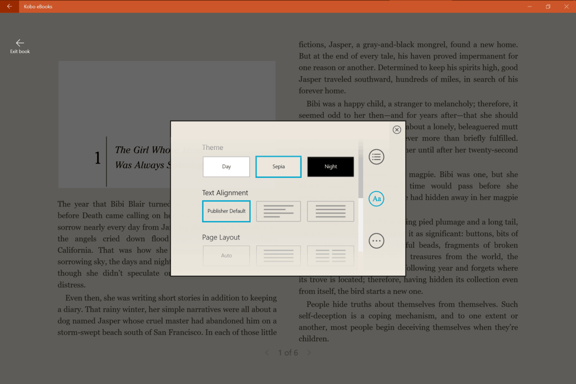 Kobo ebooks becomes a universal windows 10 app on msft the user interface is clean almost spartan interestingly while the developer touts it as optimized for windows 10 the ux still retains many elements fandeluxe Image collections