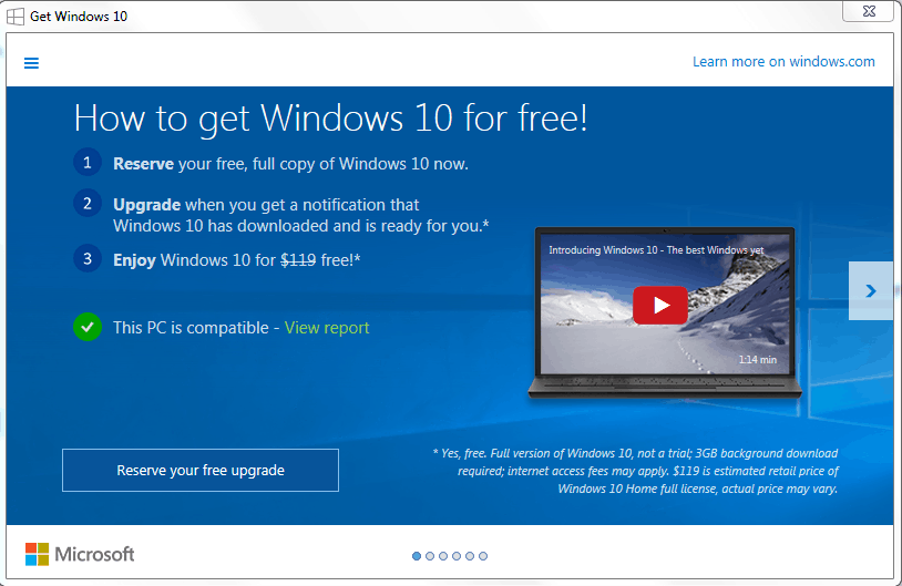 windows 10 upgrade where misunderstanding and confusion has led to