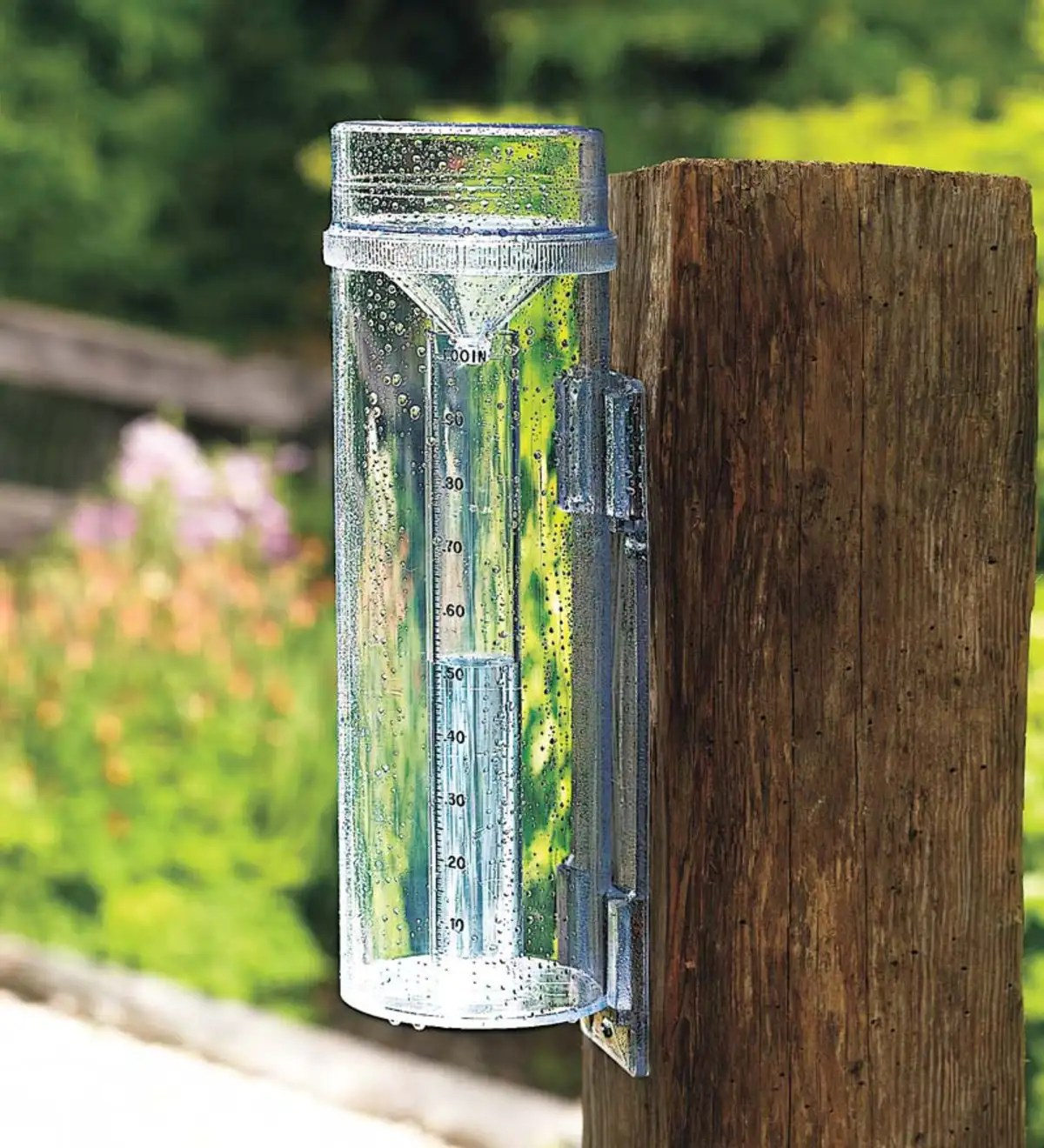 Professional Rain Snow And Hail Gauge With Mounting