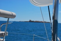Isla Tabarca to starboard