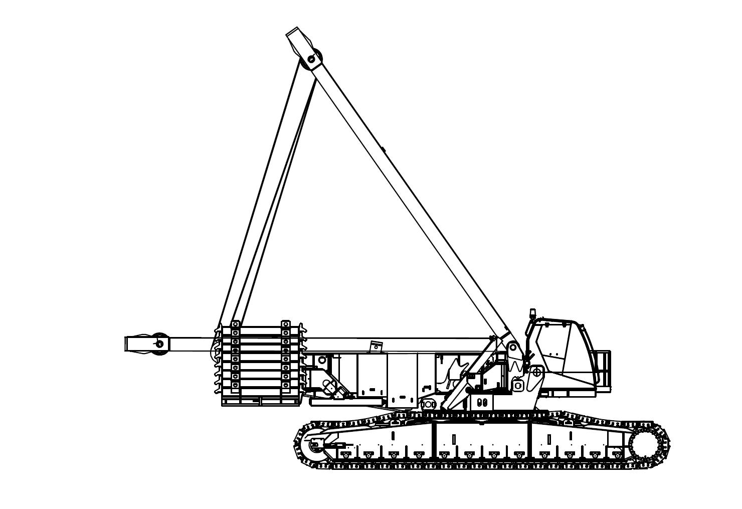 Manitowoc Cranes Autocad Dwg Blocks