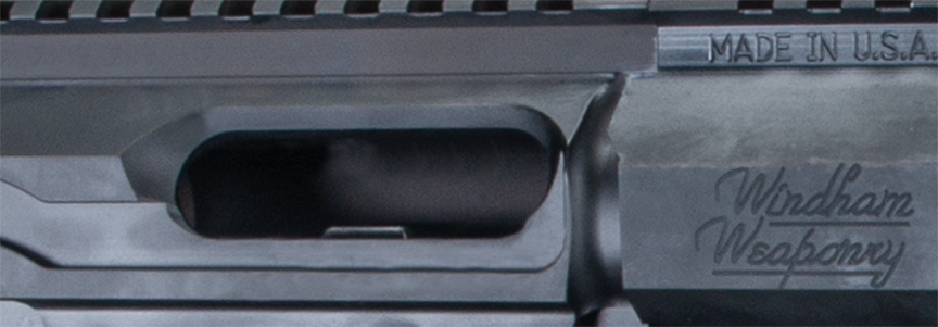 9mm Last Round Open Bolt Feature