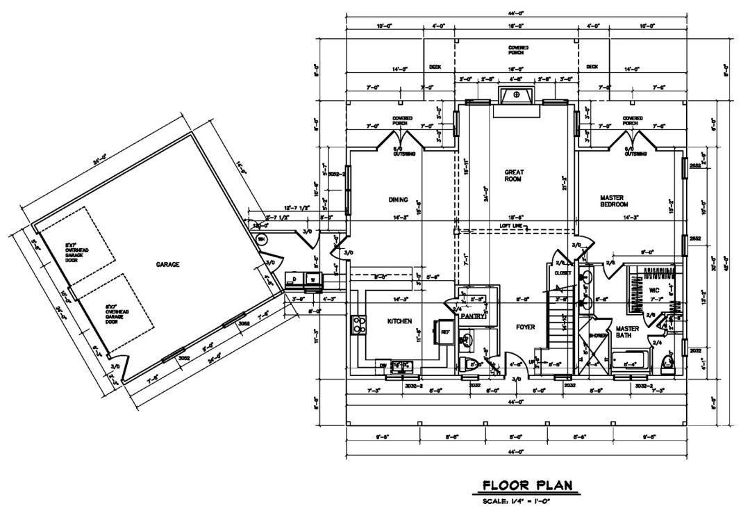 home plan for lot 1 of winding creek farm