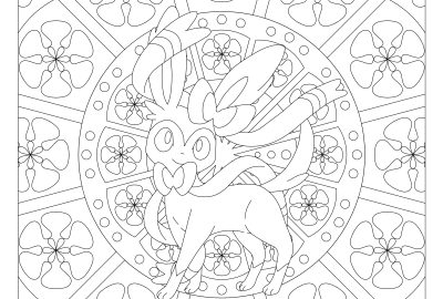 700 sylveon pokemon coloring page