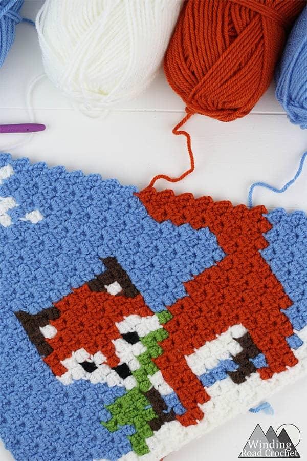 Corner to Corner Crochet (C2C) for Beginners - Winding Road