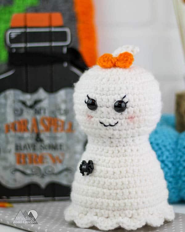 Pretty Little Ghost Free Crochet Pattern Winding Road Crochet
