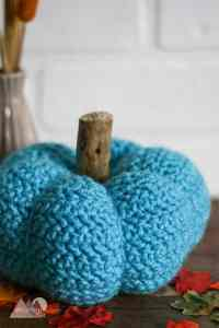 Pretty Little Crochet Pumpkin Free Pattern | This little pumpkin is great for your fall decorations.
