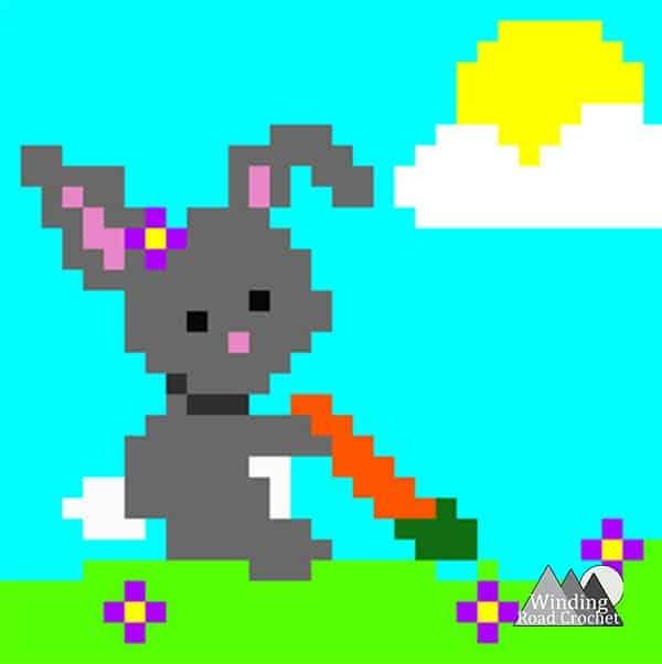 Spring little rabbit c2c graph