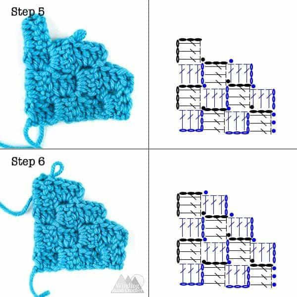 how to corner to corner crochet decrease