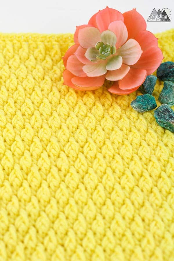 Learn how to crochet the alpine stitch with this photo and video tutorial. Video tutorial includes right and left handed instructions. #crochetstitch #Stitchtutorial