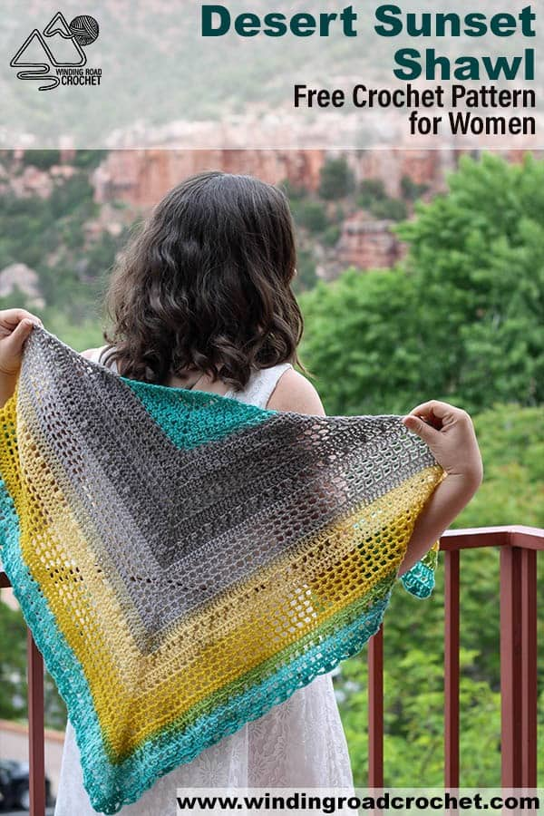 Need a light shawl for spring or summer? This shawl is beautiful and the free crochet pattern includes video tutorials to walk you step by step through the pattern. This is a perfect shawl for women who get cold easily. #crochetshawl #crochetpattern #crochetforwomen