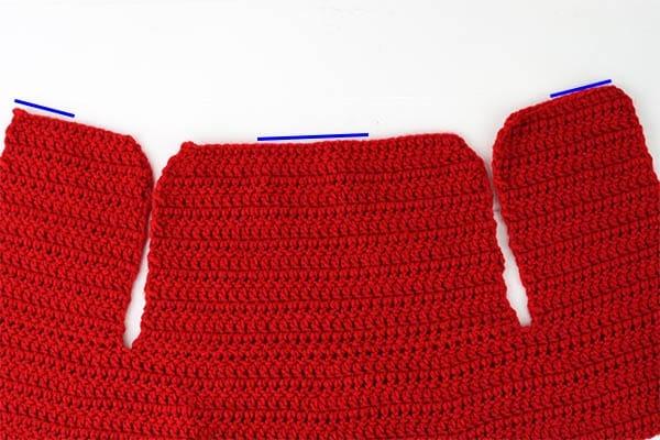 Crochet cape collar instructions