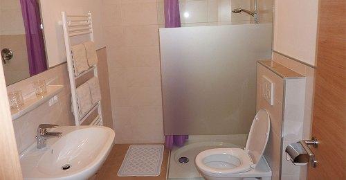 Badezimmer Appartement Windisch in Dorf Tirol