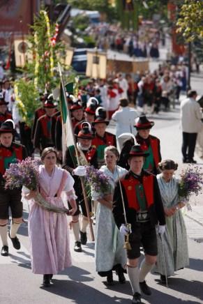 Prozession in Südtirol