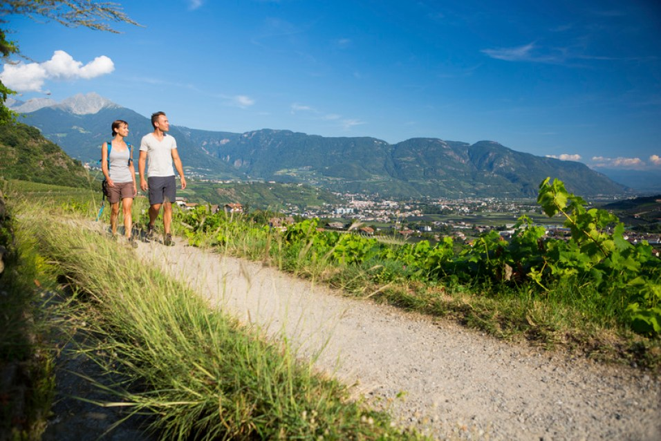 Wandern in Dorf Tirol