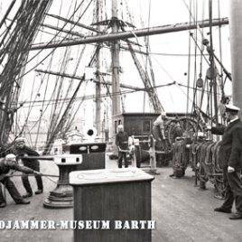 Postkarte Windjammer-Museum