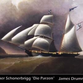 Postkarte PARZEN von Barth