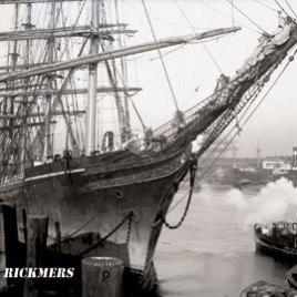 Postkarte R. C. RICKMERS