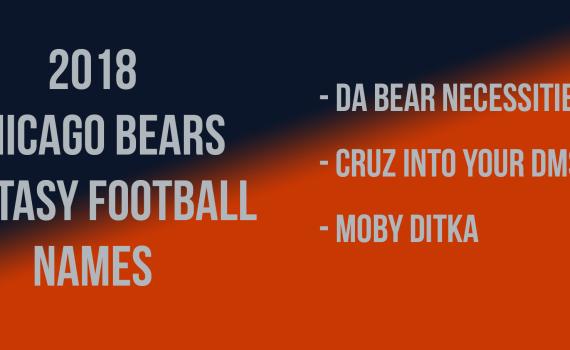 Chicago Bears Fantasy Football Names