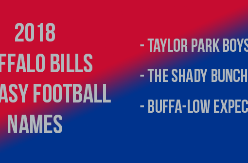 Buffalo Bills Fantasy Football Names