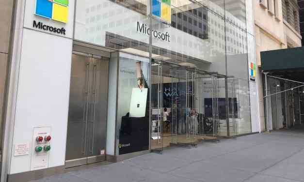 Microsoft está cerrando sus tiendas minoristas