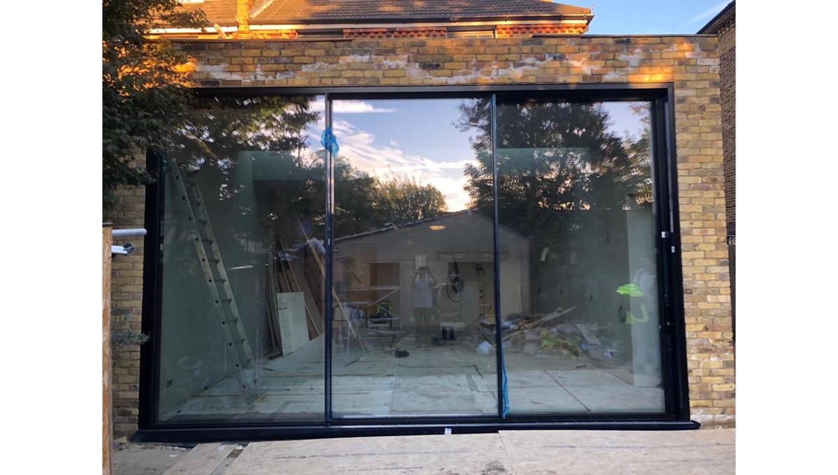 panoramic sliding doors manufactured