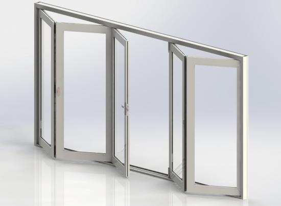 folding patio impact doors