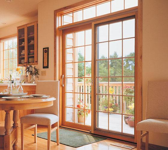 pella wood windows patio doors