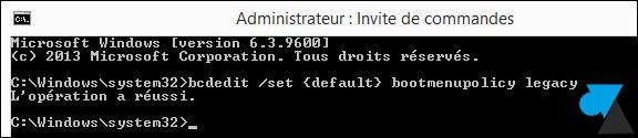 tutoriel Windows 8 8.1 mode demarrage sans echec