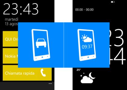 car mode - desktop mode