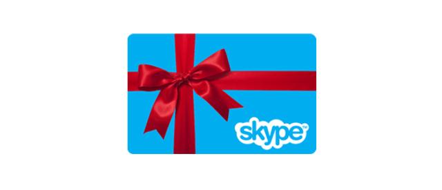 Skype-gift-card
