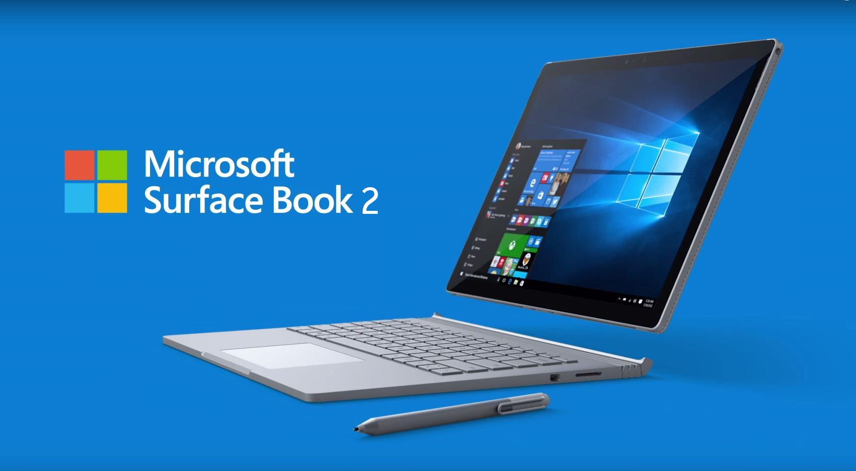 Prevendite Surface Book 2