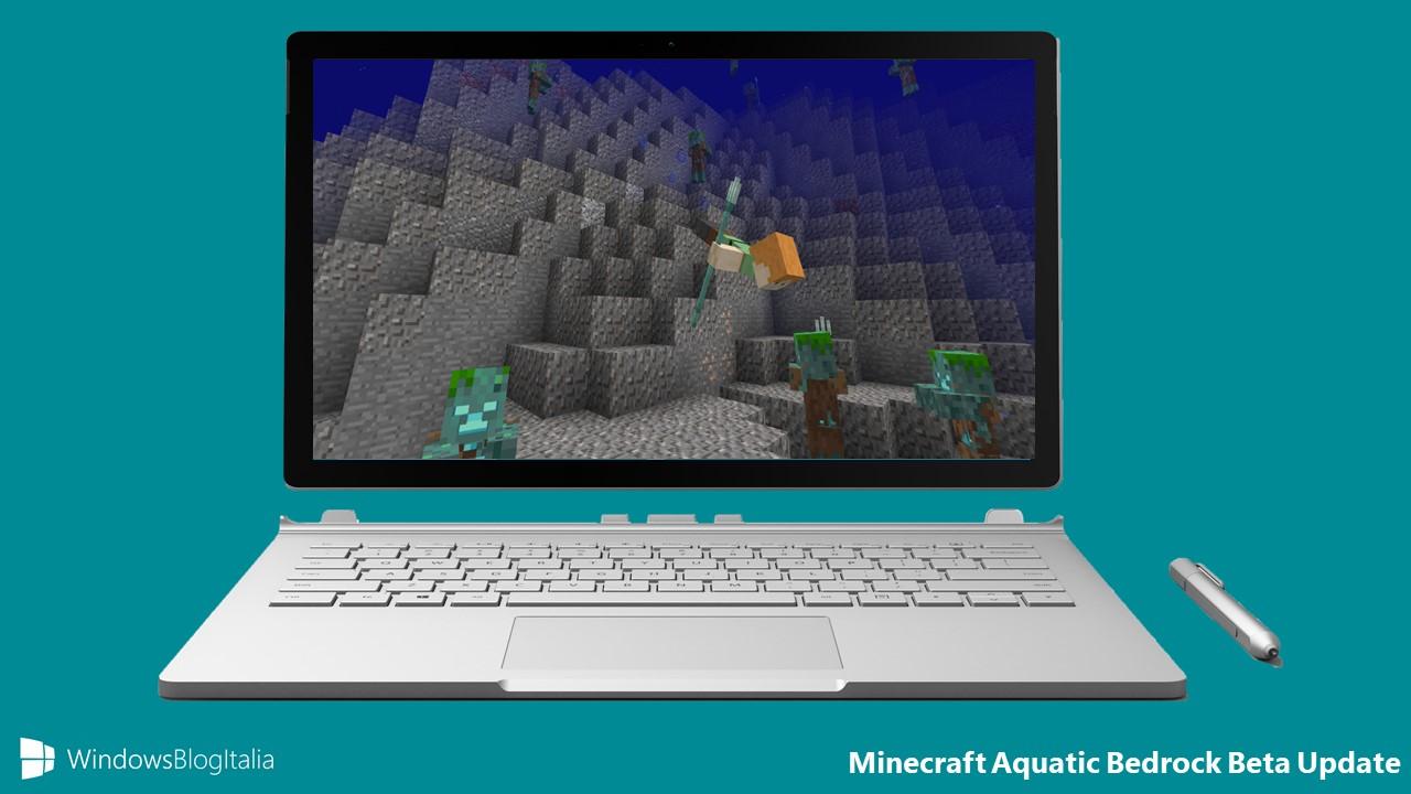 minecraft aquatic bedrock beta update