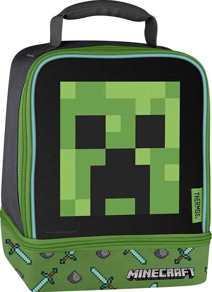 Minecraft Thermos Dual Lunch Box Reco Image