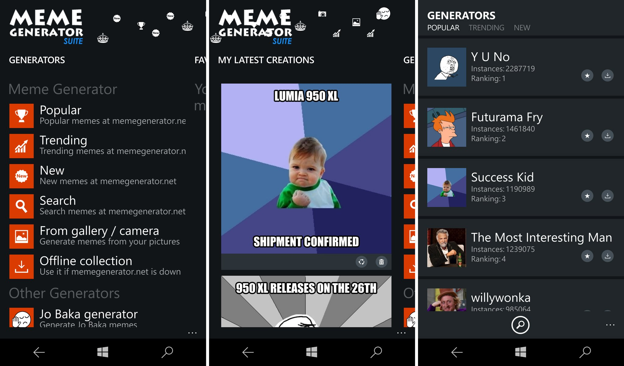 How To Use Meme Generator App Youtube