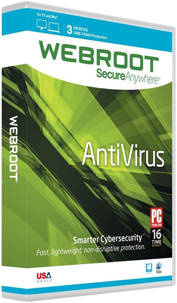Webroot SecureAnywhere AntiVirus 2016