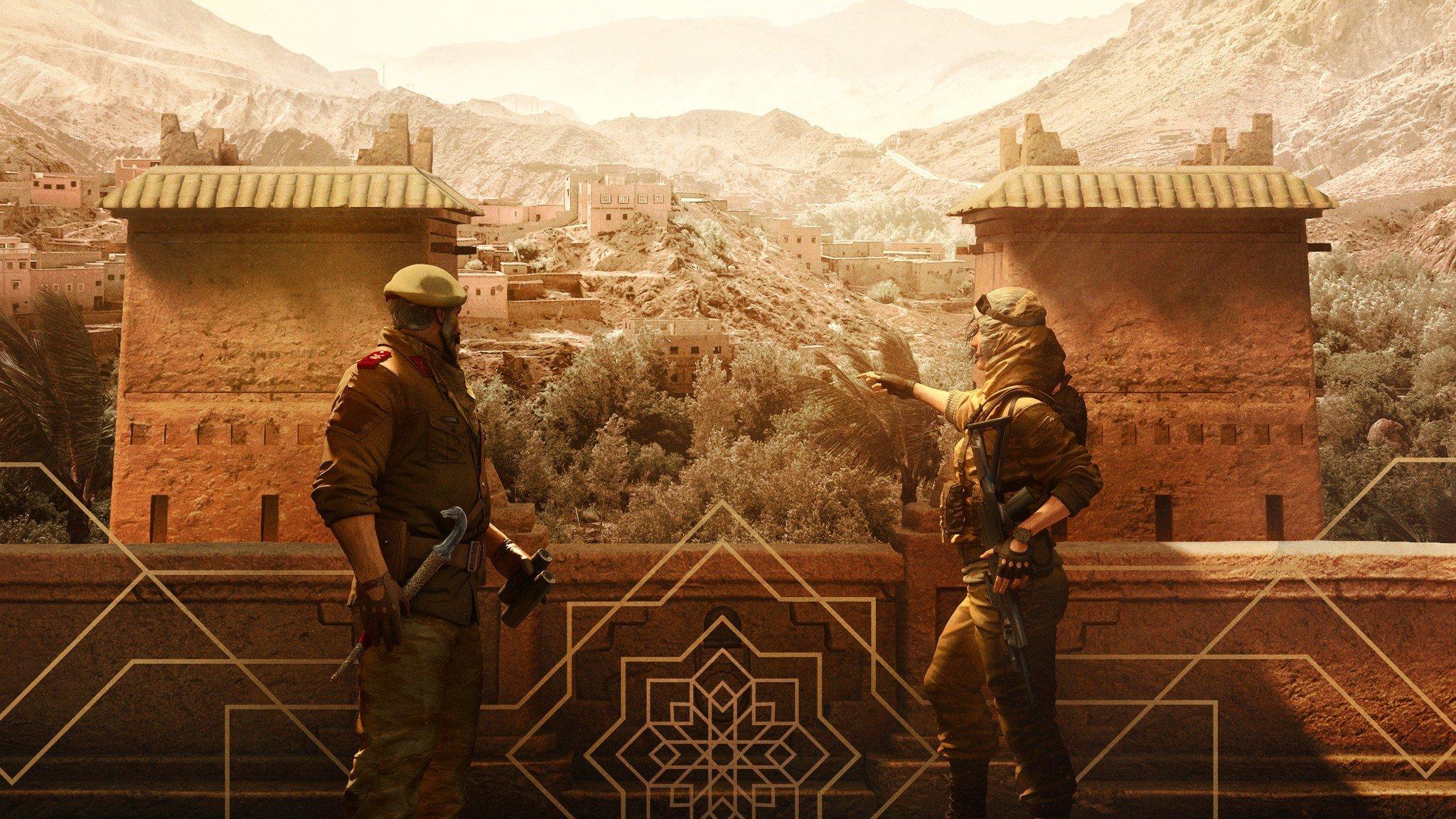 Rainbow Six Siege Kaid And Nomad Operators Leak Ahead